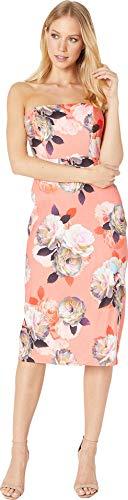 - Nicole Miller Women's Svetlana Strapless Dress Multicolor 12
