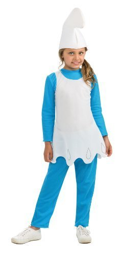 80s Movie Halloween Costumes (The Smurfs Movie 2 Smurfette Costume, Small)