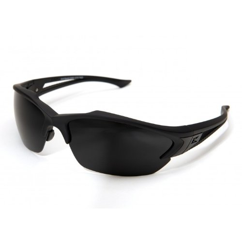 Edge Tactical Eyewear SG61-G15 Acid Gambit Matte Black with G-15 - G-15 Lenses