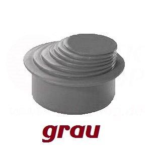 Ht Kg Rohr Reduzierverbinder Mehrstufig O 63 100 Mm Grau Reduktion