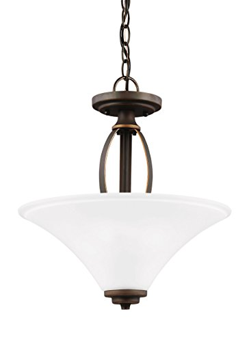 Amazon.com: Sea Gull Lighting 7713202 Metcalf 2 Light ...