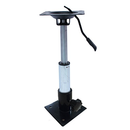 Aquos New Adjustable Boat Seat Pedestal Smooth 360° Rotation Gas Lift Swivel, Support 13