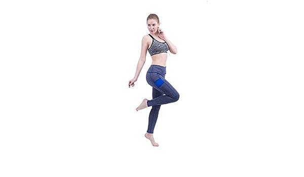 Gimitunus Leggings de Mujer Pantalones de Yoga Parche Negro ...