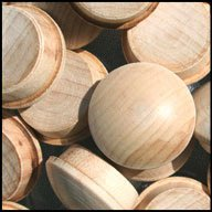 WIDGETCO 3/4'' Maple Button Top Wood Plugs(QTY 5,000)