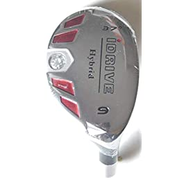 New Integra I-Drive Hybrid Golf Club #9-37° Right-Handed With Graphite Shaft, U Pick Flex