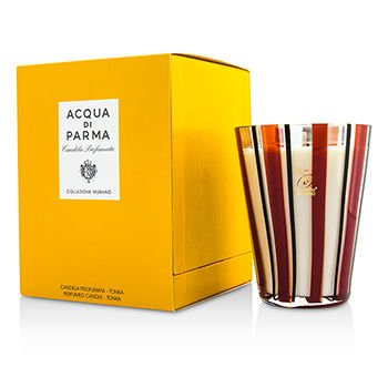 [Acqua Di Parma] Murano Glass Perfumed Candle - Tonka 200g/7.05oz B01EACN4HE