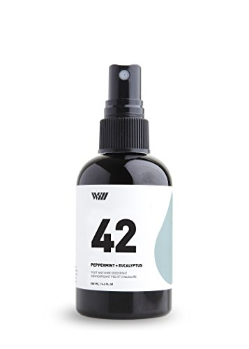 Way of Will 42 Foot And Shoe Deodorant | Peppermint+Eucalyptus (Peppermint Deodorant)