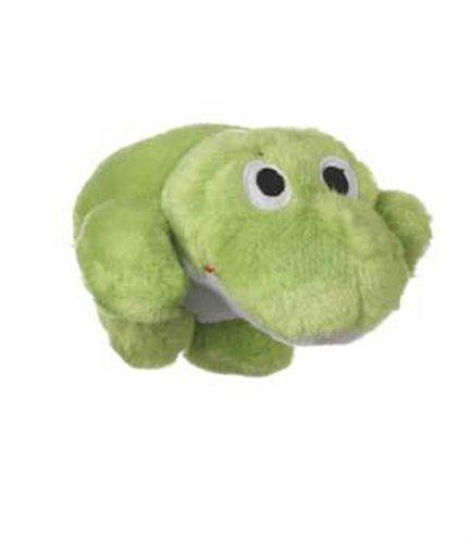 Dog Frog Plush (Multipet Look Who's Talking Dog Toy, Frog)