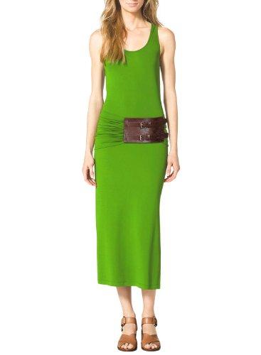 Miusol Ladies' Casual Style Maxi Belt Decor Vest Bodycon Dress
