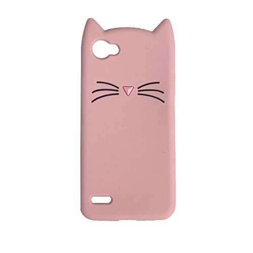 sale retailer ac0c2 876a4 LG Q6/Q6 Plus/G6 Mini Case, iFunny Cute 3D Cartoon Animals Fortune Beard  Cat Shockproof and Protective Soft Silicone Rubber Phone Case for LG Q6/LG  G6 ...
