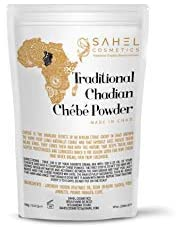Chebe Powder Sahel Cosmetics Traditional Chadian Chébé Powder, African Beauty Long Hair Secrets (20g)