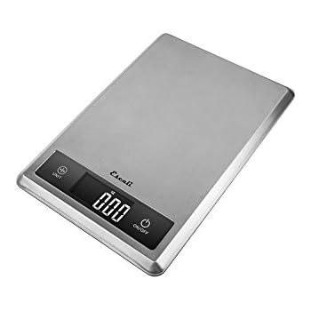 Escali T115S Tabla Ultra Thin Digital Scale, 11 Lb/5Kg