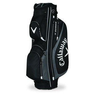 2016 Callaway X Series Cart Trolley Golf Bag 14-Way Divider Black/Charcoal