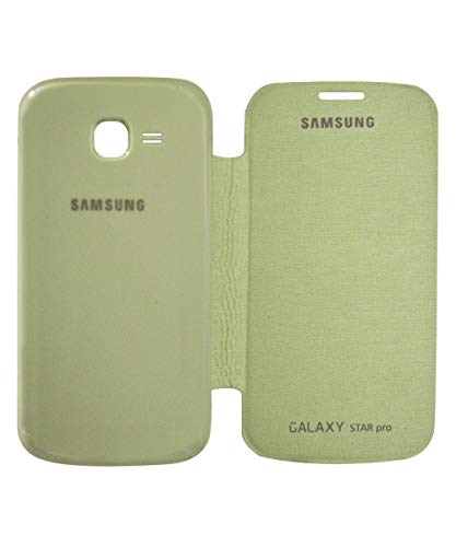 covernew flip cover for samsung galaxy star pro s7262   green