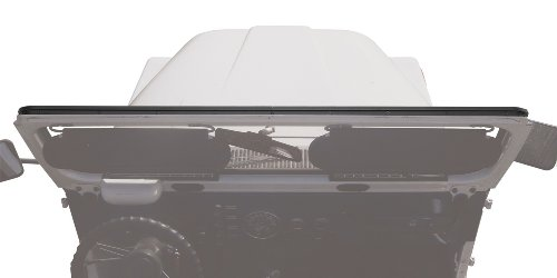 Bestop 51209-01 Black Windshield Channel for 1976-1995 CJ5, CJ7, Wrangler; 1964-1984 Toyota Land Cruiser, FJ40