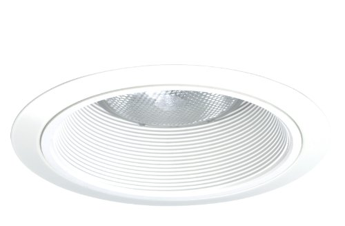 Juno Lighting Contractor Select 24W-WH 6-Inch Tapered Downlight Baffle White with White Trim
