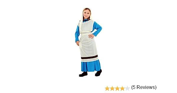 Disfraz de Lavandera para niñas en varias tallas: Amazon.es ...