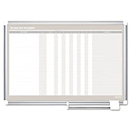 In-Out Wall Mounted Magnetic Whiteboard Size: 2\' H x 3\' W