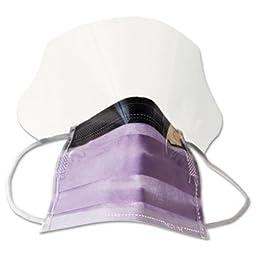 MIINON27410EL - Medline Prohibit Face Mask w/Eyeshield
