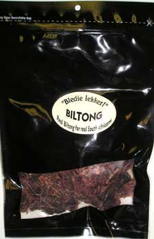 Beef Biltong Sliced 8oz
