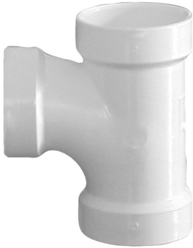 Astm Pipe Pvc - Genova Products 71115 Sanitary Tee Pipe Fitting, 1 1/2