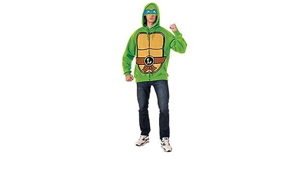 Chaqueta de Leonardo Las Tortugas Ninja para hombre: Amazon ...