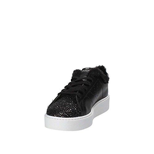 Victoria Piattaforma Basse Sneakers 260121 nero con Scarpe Donna HvPwHr
