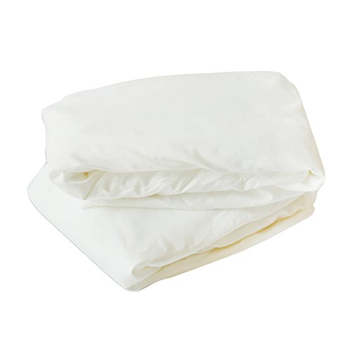 Ingenuity Wood Foldaway Rocking Bassinet Sheet 2 Pack White by Ingenuity