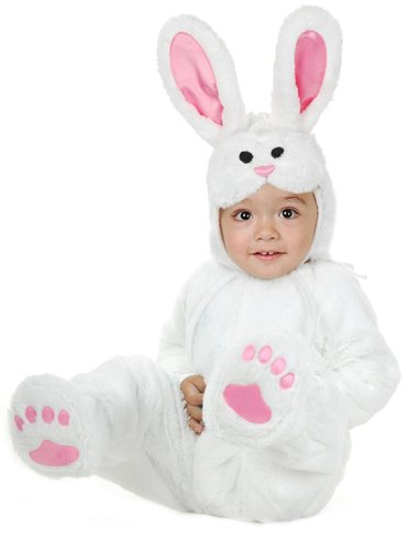 Little Bunny Toddler Costume (Cutest Toddler Halloween Costumes)