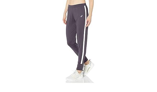 ASICS Womens Lani Performance Pant, Steel Grey/White, Small ...