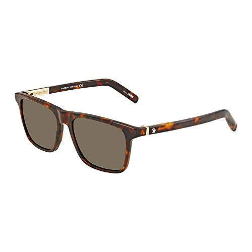 Sunglasses Mont Blanc MB 719 S 52J dark havana/roviex - 719 Glasses