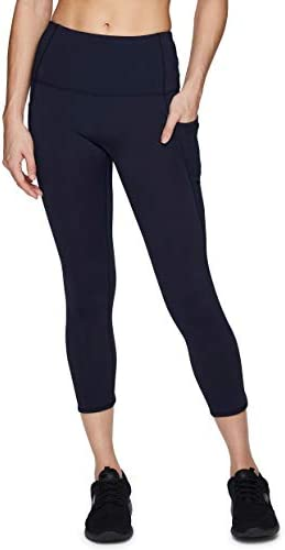 SPORTTIN Womens Yoga Capri Pants Sport Tights Workout Running Mesh Active Leggings