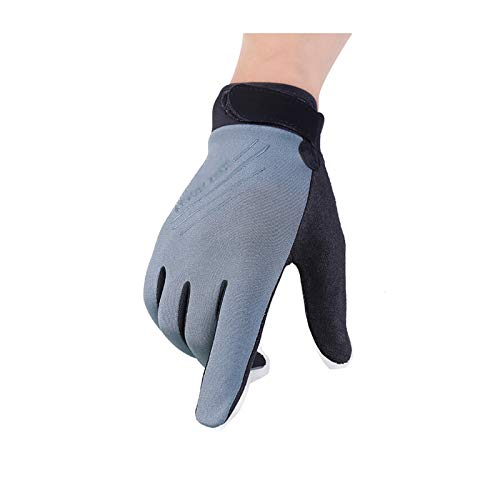 (Aokarry Gloves, Touchscreen Warm Gloves for Outdoor Sport Cycling Nylon?Taslon Winter Gloves Grey Small)