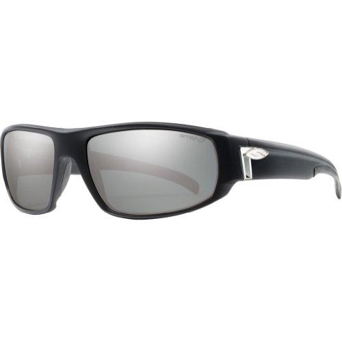 Smith Tenet Sunglasses - Polarized ChromaPop Matte Black/Platinum, One - Tenet Smith Sunglasses