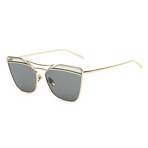 LOMOL Girls Fashion Trendy Personality UV Protection Metal Frame Wayfarer - Polarised Sunglasses Spotters