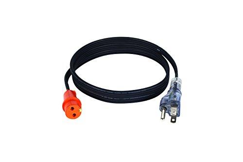 Zerostart 3600119 Lit Plug Cordset for Engine Block Heaters, 5-Feet (1 52  m) | 120 Volts