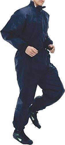 Sub Anzug Fußball Ersatz Sport Wärm Dich Trainingsanzug Outfit Marineblau XXS-XL
