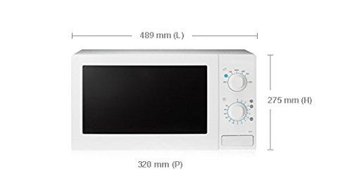 Samsung MW71B 20L 800W Blanco - Microondas (20 L, 800 W ...