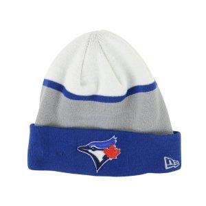 New Era Toronto Blue Jays Colorblock Knit Hat