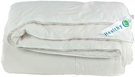 HealthyLine Magnetic Tourmaline Energy Comforter - Silk Plush (Full)