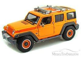 Jeep Rescue Concept (Orange) * Premiere Edition * 2014 Maisto 1:18 Scale Die-Cast Metal Vehicle (Scale Diecast 18 Vehicle)