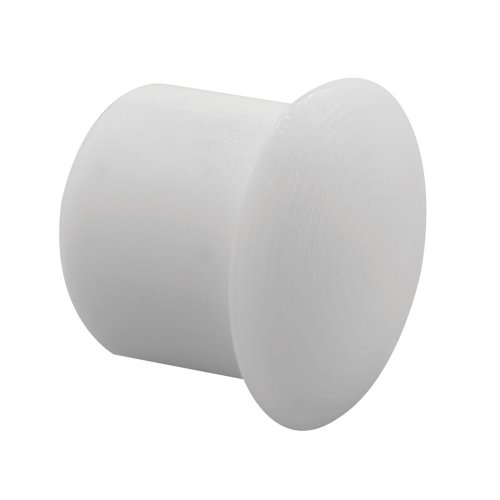 Prime-Line Products U 10039 Shelf Peg Hole Plugs, 1/4 in., Plastic, White, Push-In (Pack of 48)
