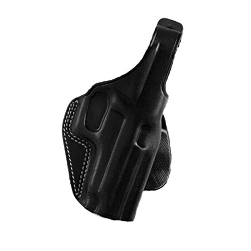 Galco PLE224B Unlined Paddle Gun Holster for Glock 17, Right, Black ()