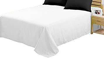 2-Pack Queen,Cardinal CC/&DD HOME FASHION Flat Sheets,Ultra Soft Brushed Microfiber