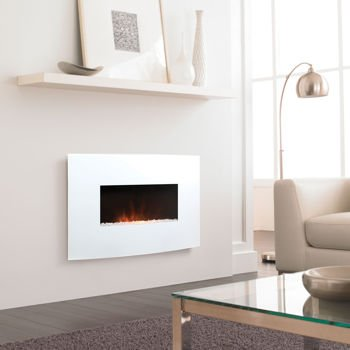 Bionaire Electric FUNCTIONAL & FASHIONABLE Fireplace (White ...