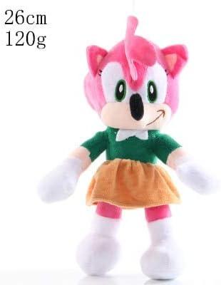 N / A 2020 Sonic Plush Doll Toys Varios Roles Sonic Cotton Soft Stuffed Game Doll Toys para niños 11-30CM