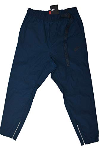 - NIKE Mens M NSW Pant Air Max Wvn 861590-497_3XL - Armory Navy/Black/Black