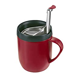 Zyliss Cafetiere Hot Mug, Red