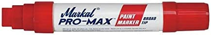 Pro-Max Jumbo Feltip Paint Marker,Red