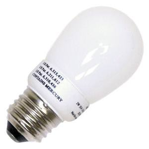 Litetronics MicroBrite MB-201 - 2 Watt CCFL Light Bulb - Compact Fluorescent - Min Start. Temp. - 20 Deg. - - 11 W Equal - 2700K Warm White - 82 CRI - 40 Lumens per Watt - 2 Year Warranty